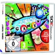 rondomedia kündigt bunten Spielspaß für Kids an Abwechslungsreich und kindgerecht: Junior Games 3D für Nintendo 3DS