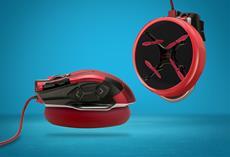 Schwebt, gleitet, saugt: Speedlink entwickelt weltweit erste Luftkissen-Maus