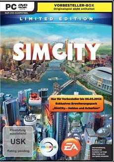 SimCity: Limited Edition Pre-Order-Box jetzt im Handel erhältlich