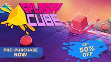Splashy Cube is launching on Switch<sup>&trade;</sup>on December 11th!