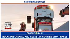 Stuntrennwoche in GTA Online: 2x GTA$ & RP auf Rockstar-Stuntrennen