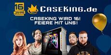 Sweet 16! Caseking wird 16 und ihr könnt mitfeiern. Live-Stream, Community Cup und viele tolle Preise - Jetzt bei Caseking!