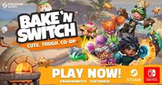The Bunpocalypse Begins! Bake 'n Switch is Now Available on Nintendo Switch!