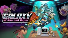 Today, explore strange planets and terrible dangers in Galaxy of Pen & Paper