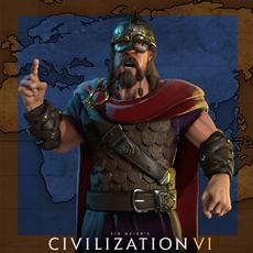 Trajan führt Rom an in Civilization VI