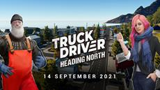 Truck Driver's map DLC 'Heading North' to launch on September 14