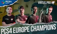 Virtus.pro gewinnt PUBG Continental Series 4 Europe
