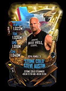 "WWE SuperCard feiert 25 Jahre ""Stone Cold"" Steve Austin"