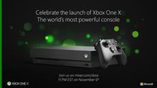 Xbox One X: Livestreams zum Launch